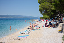 Brela, Croatia, Beach